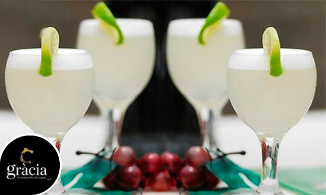 Happy Hour para 2 Pisco sours fuente de piqueo gourmet