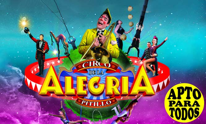 2x1 en entradas de niño o adulto para Circo de la Alegria de Pitillo Jockey