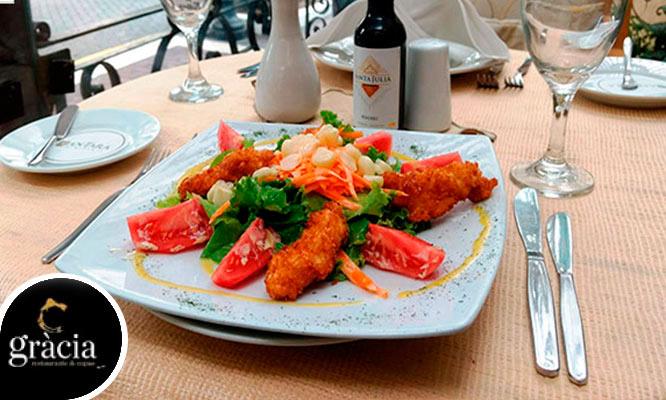 Almuerzo o cena romantica para dos ¡Celebra la Primavera!