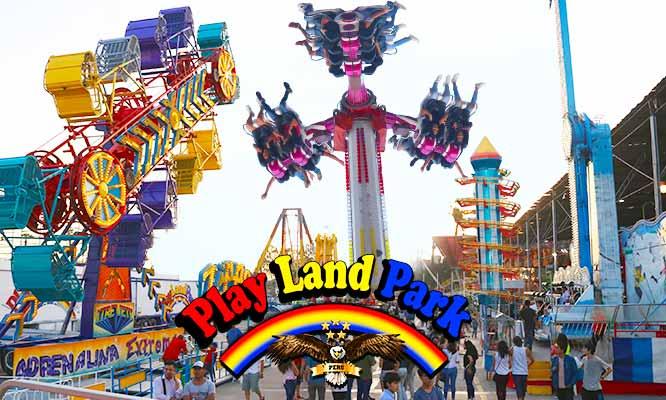 Pulsera Ilimitada a los Juegos Mecanicos Todo el Dia en Play Land Park