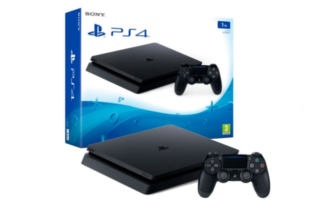 Consola Ps4 Slim 1TB Negro Delivery incluido