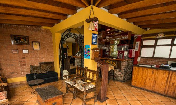 Buffet italo - peruano chicha postre
