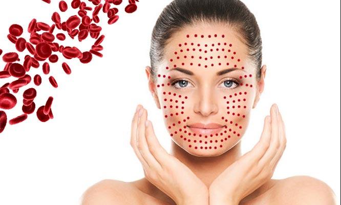 Rejuvenecimiento Facial PRP activador punta de diamante Alta Frecuencia