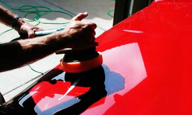 Tratamiento de pintura pulido orbital abrillantamiento para autos o camionetas