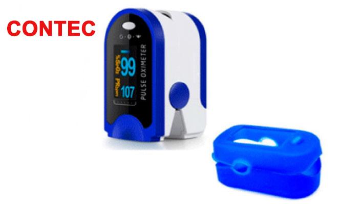 Pulsioximetro medidor de oxigeno cardiaco marca Contec Delivery
