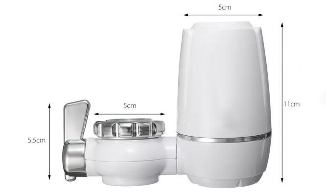 Filtro Purificador de agua directo del grifo doble Zoosen!