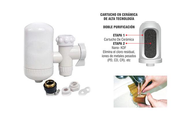 Delivery Filtro purificador de agua directo para el caño