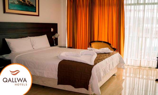 Pucallpa 1 o 2 noches para 2 en habitacion Matrimonial standard desayunos
