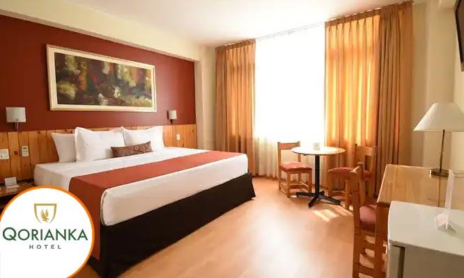 Habitacion matrimonial Junior Suite o Suite Delux en Qorianka Hotel