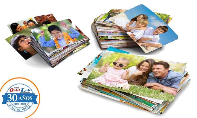 Impresion de 40 fotos en papel mate o brillo en tamaño jumbo