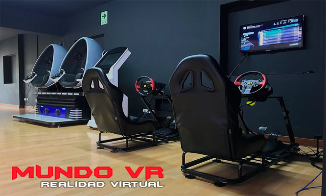 Juegos extraordinarios de realidad virtual en Mundo VR