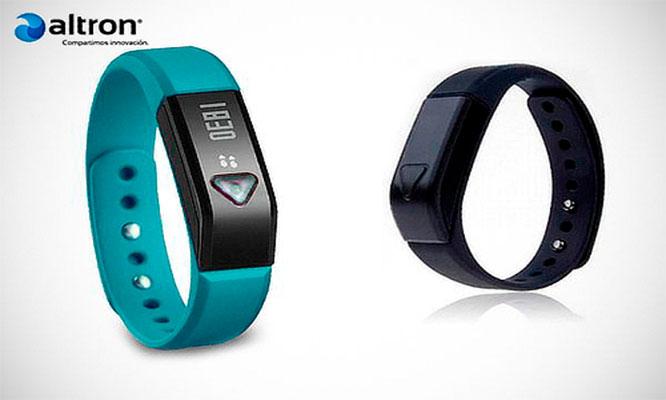 Reloj pulsera fitness smartwatch marca Altron