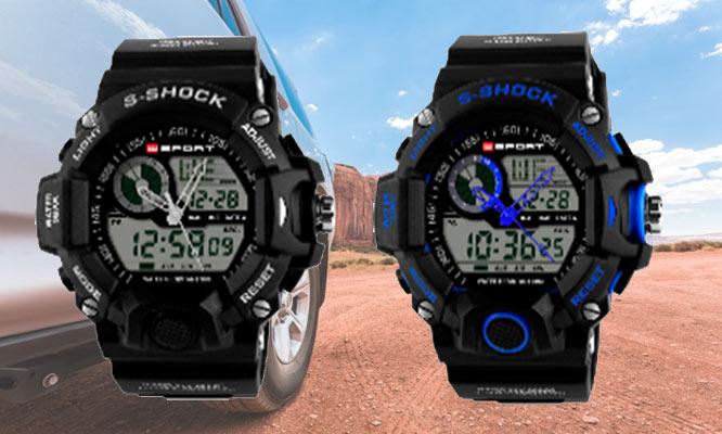 Reloj S- Shock Sport para caballero en 6 colores a elegir ¡Incluye delivery!