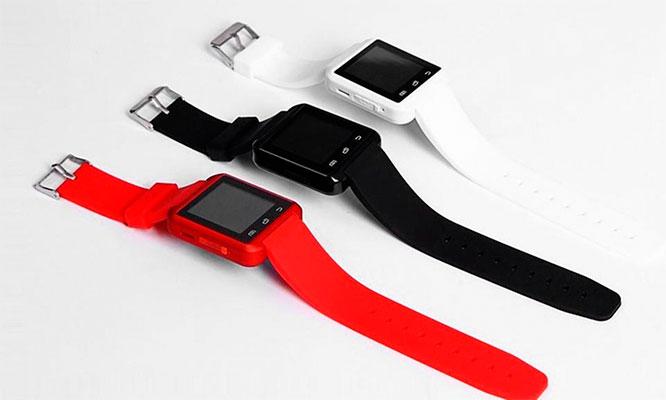 SmartWatch Bluetooth con pantalla tactil LCD para iPhone o smartphone
