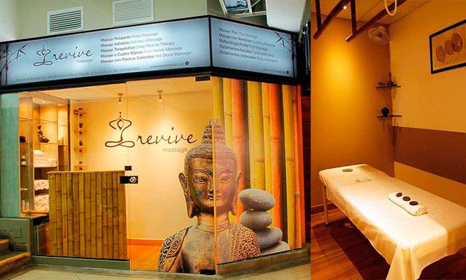 Relaxing Spa para 1 o 2 masaje piedras calientes hidratacion facial y mas