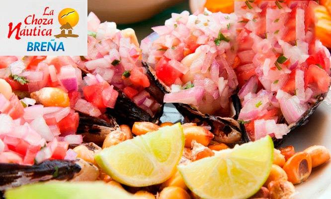 Ronda Chozera para dos 1 cebiche 1 arroz con mariscos y mas