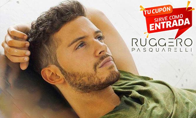 Concierto de RUGGERO PASQUARELLI – NUESTRO TOUR! Este 08/11 en CC Scencia