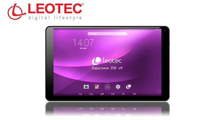 Tablet Leotec Supernova S16 v4 negra o blanca ¡Calidad y potencia en una pantalla XL!