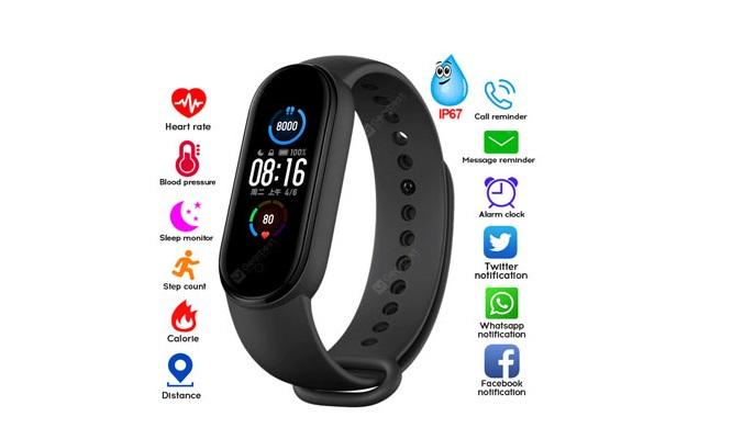 Smart Band M5 Fitness Tracker reloj pulsera ¡Incluye delivery!