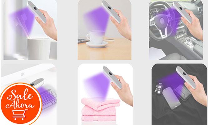 Varita UV portatil desinfectante multisuperficies ¡Delivery incluido!