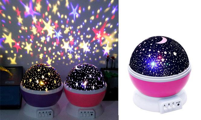 Lampara de luces estrelladas para niño o niña ¡Con delivery en 24hrs!