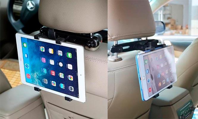Soporte de tables para cabeceras de auto delivery