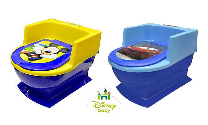 Disney® Baby Baño entrenador ¡Elige Mickey Cars Minnie Princesas con delivery!