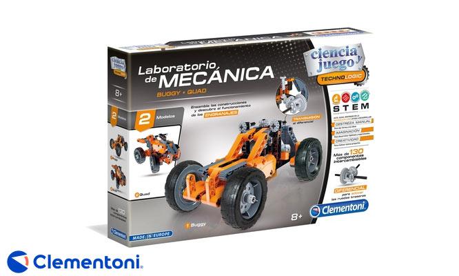 Laboratorio de Mecanica Clementoni® Buggy Quad delivery