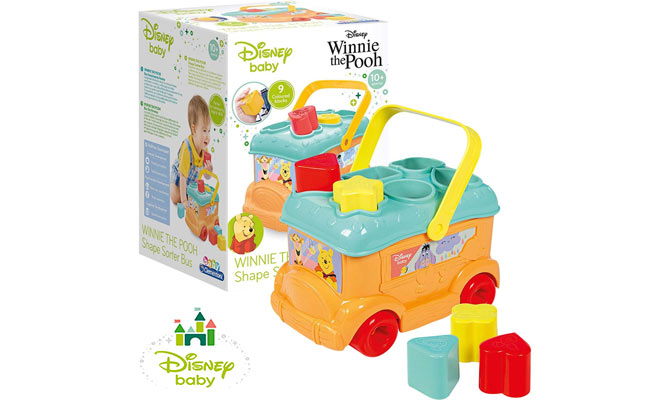 Disney® baby Bus para encajar ¡Elige Minnie Mickey o Pooh delivery!