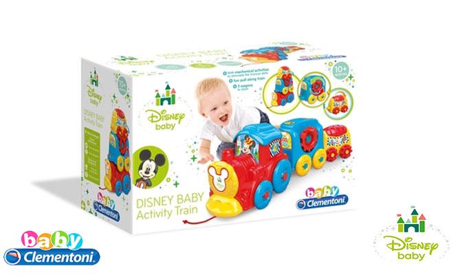 Disney® Baby - Baby Clementoni® El Tren de Disney Baby delivery