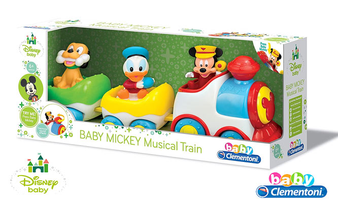 Disney Baby Tren Divertido Mickey Mouse o Minnie Mouse delivery