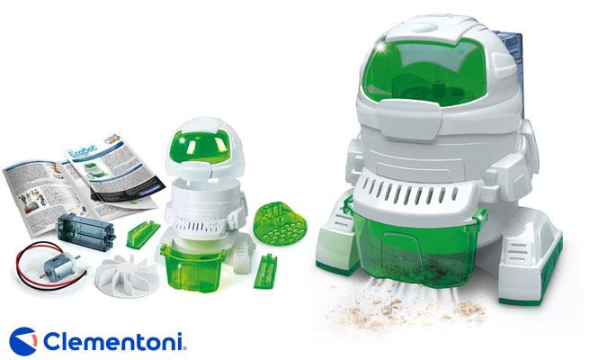 Clementoni® ECOBOT arma y aspira delivery