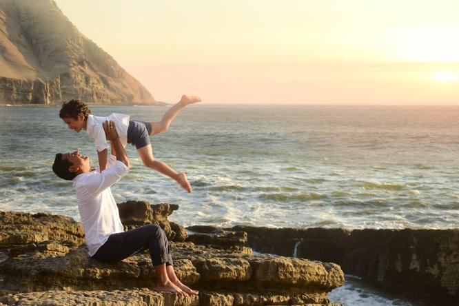 Sesion de fotos en exteriores para parejas pre-boda o quinceañeras impresiones