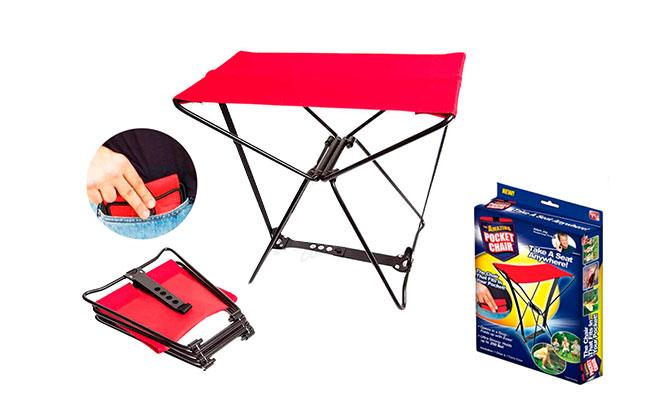 1 o 2 sillas plegables para camping o terraza