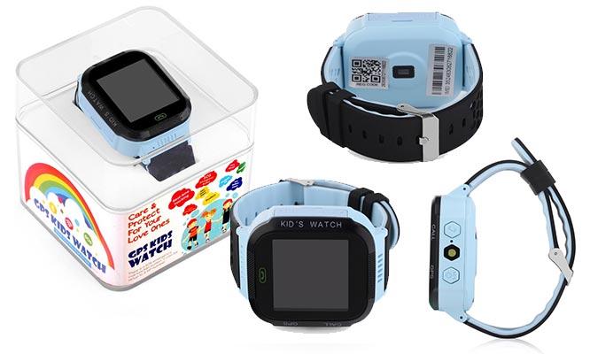 Smartwatch para niños con pantalla touch GW500S marca Wonlex color a elegir