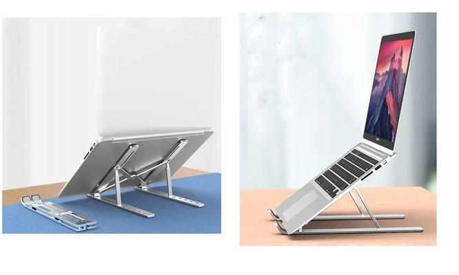 Soporte de aluminio ajustable para laptop Macbook ipad o tablet delivery!