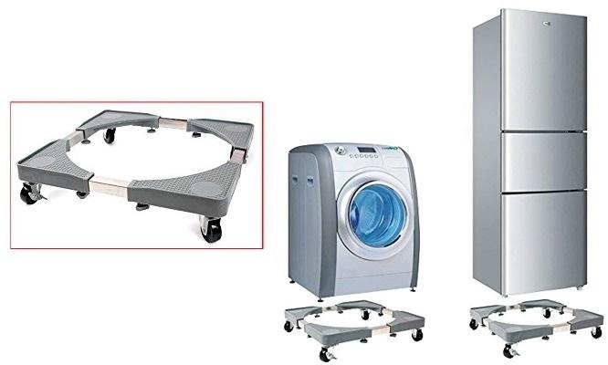 Soporte con ruedas para lavadora refrigeradora o cocina ¡Incluye delivery!