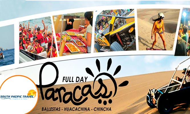 Full Day Paracas - Huacachina – Chincha Salidas todos los sabados y domingos