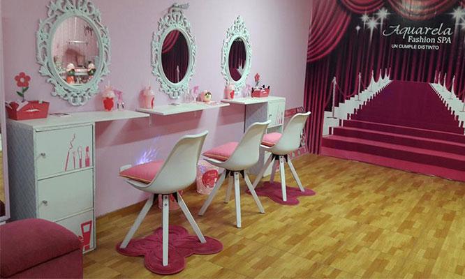 Dia de spa para 10 niñas manicure pedicure facial peinado maquillaje y mas