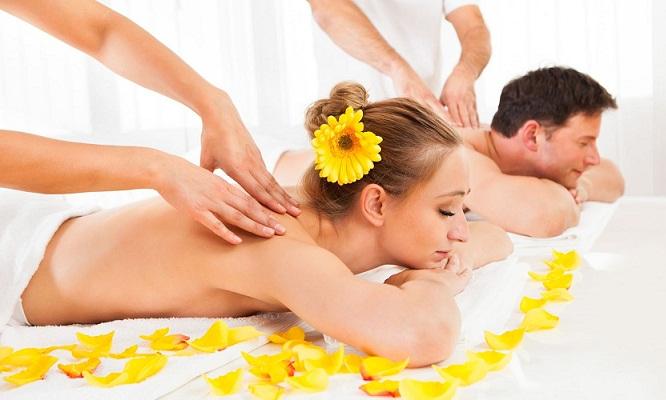 Surco Dia de spa para 2sauna seca ducha española masajes y mas