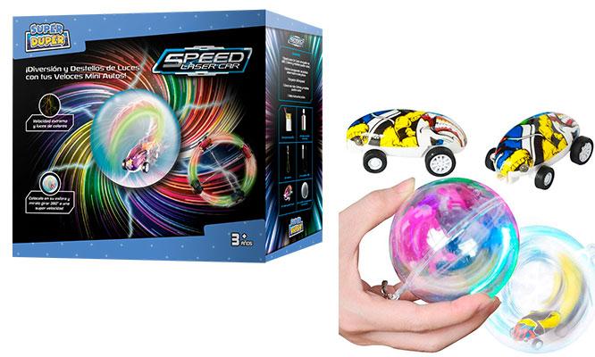 Speed laser Car - Carro laser multicolor con Super Duper