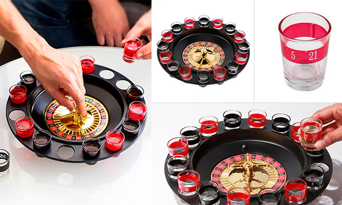 "Ruleta shot de tragos ""Spin and Shot"""