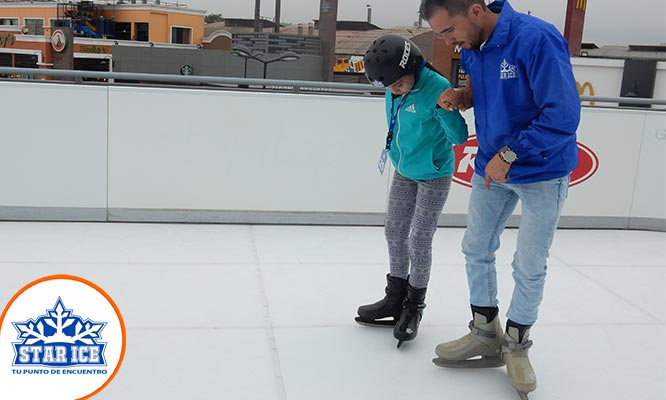 Star Ice Patinaje sobre hielo para 2 personas Lima y Arequipa
