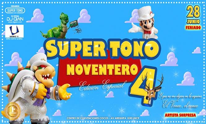 Super Tono Noventero Edicion El Aniversario - Elige Zona