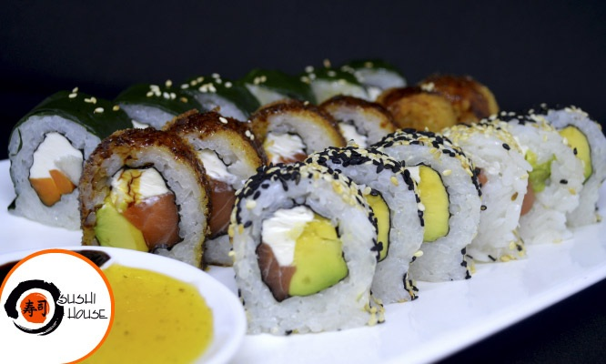 25 makis en Sushi House