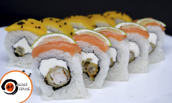 ¡All you can eat! Barra libre de makis wantanes rellenos y mas en Gan Sushi House