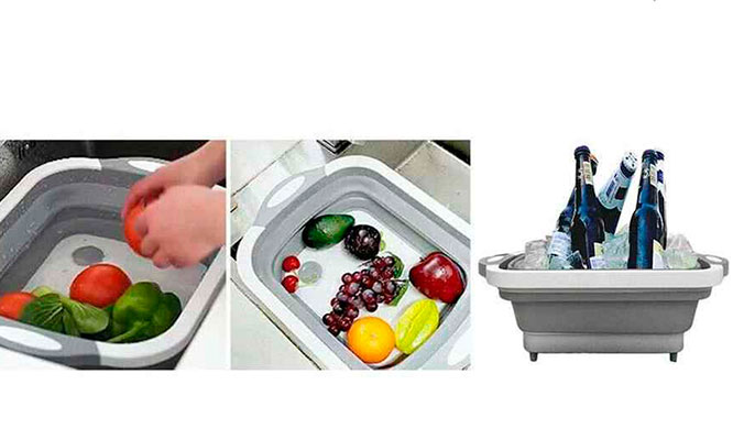 Multifuncional tabla para cortar verduras u otros plegable y portatil ¡Incluye delivery!