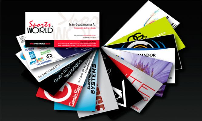 Millar de tarjetas personales o de negocio con tu propio diseño delivery