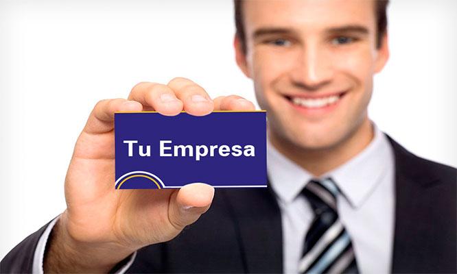 Delivery Un millar de tarjetas personales o de negocio con tu propio diseño
