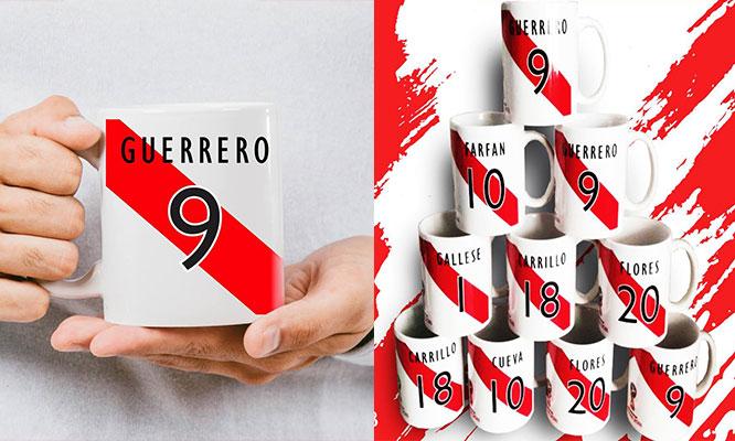 Tazas mundialistas 2 tazas con diseño personalizado